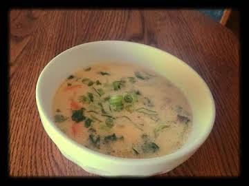 Thai Salmon Soup