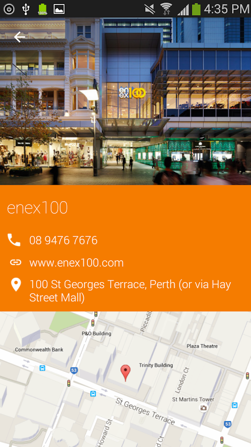 Hello Perth Travel Guide- screenshot