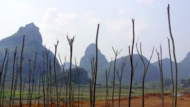 Photo: Karst Mountains off Wanfu Lu