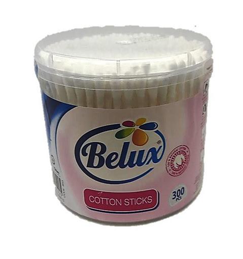 hisopos belux ear swabs algodón 300und