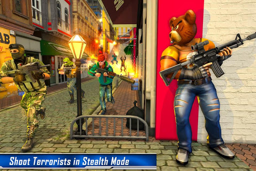 Teddy Bear Gun Strike Game: Counter Shooting Games apkmr screenshots 2