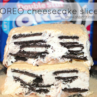 ~OREO Cheesecake Slice!