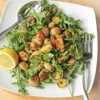 Herb Roasted Potato and Arugula Salad