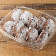 Chocolate Coffee Tahini Cookies