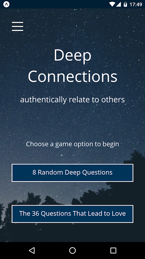 Deep Connections- screenshot