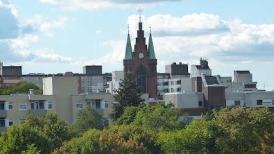 Photo: Mauerpark; Friedenskirche des Hl. Sava