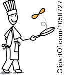 1058727-Royalty-Free-Vector-Clip-Art-Illustration-Of-A-Stick-Chef-Flipping-Pancakes.jpg