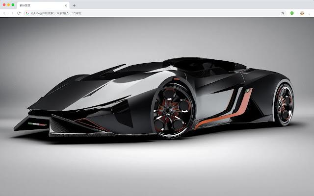 Future Cars New Tabs Popular HD Themes