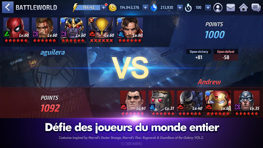 MARVEL Future Fight  captures d'écran 5