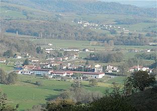 Photo: 10h56 Vue imprenable sur la vallée, température estivale Ainhice Mongelos?