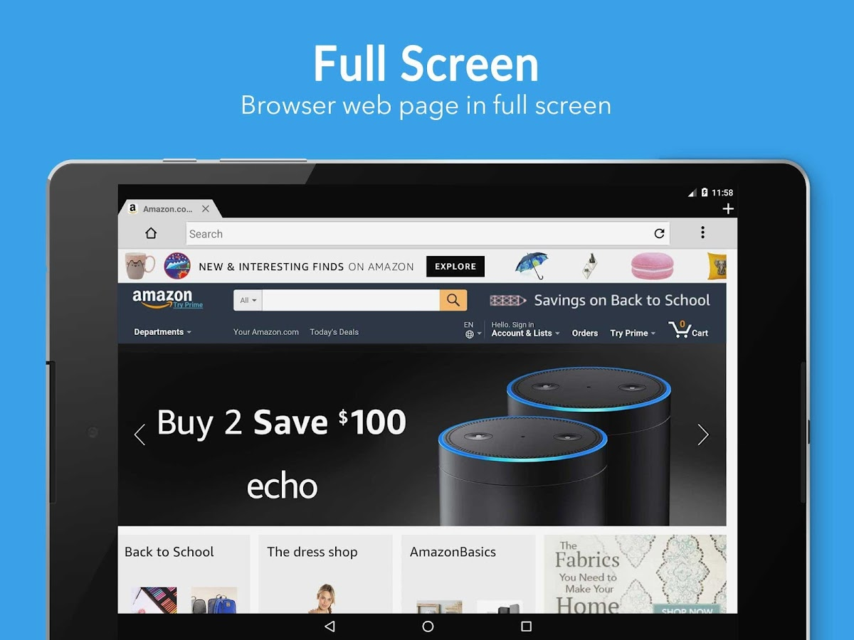 5G Browser- screenshot