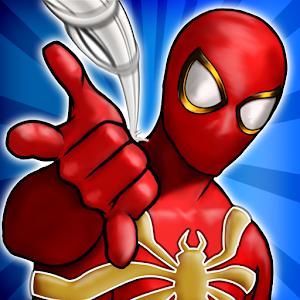Flying Iron Rope Spider Legend Superhero Game 2018