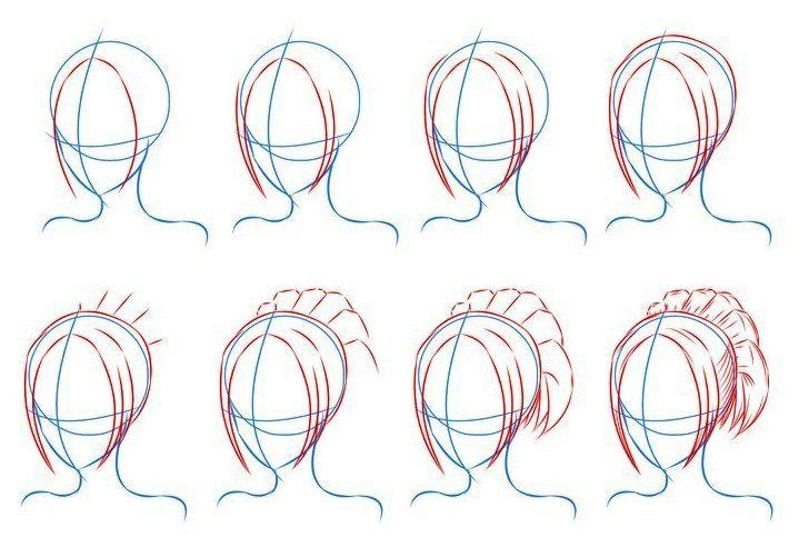 easy curly anime hairstyles hairstylegalleriescom