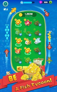 Merge Fish – Tap Click Idle Tycoon 3