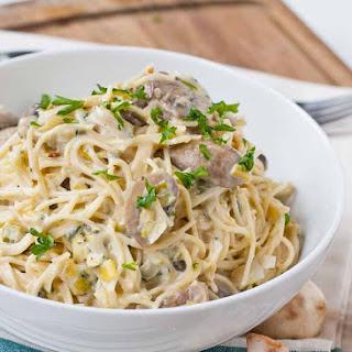 Creamy Leek and Mushroom Pasta