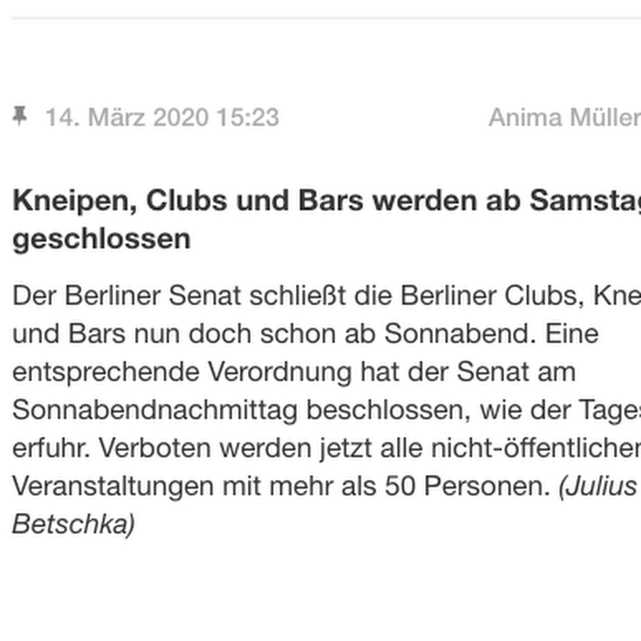 Straßenfest berlin 2020