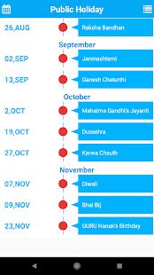 Indian Festivals and Holidays Calendar 2018 - náhled