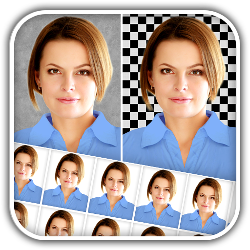 Passport Size Photo Maker Icon