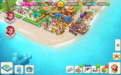 My Little Paradise : Resort Management Game android2mod screenshots 16