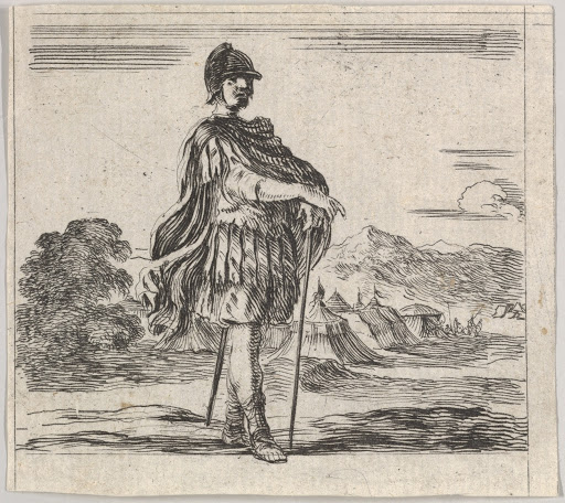 Mars, from 'Game of Mythology' (Jeu de la Mythologie)