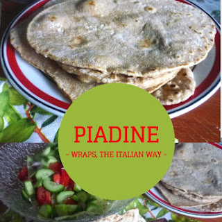 Piadine, the Italian way of wraps