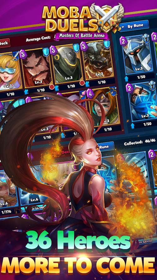 MOBA Duels - Masters Of Battle Arena – zrzut ekranu
