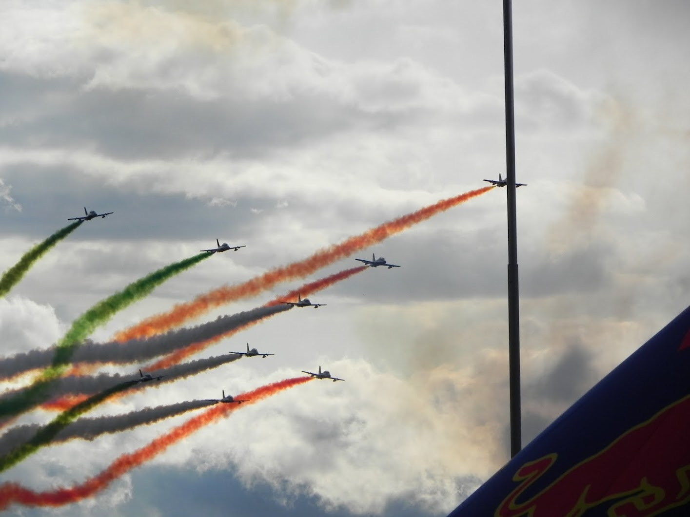 Frecche Tricolori at Airpower 2011, Austria