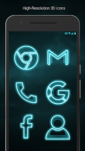 The Grid - Icon Pack (Pro Version) Screenshot