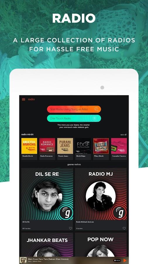Gaana: Bollywood & Hindi Songs- screenshot