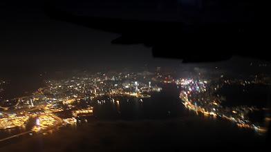 Photo: Sidste glimt af Kowloon (til venstre) og Hong Kong
