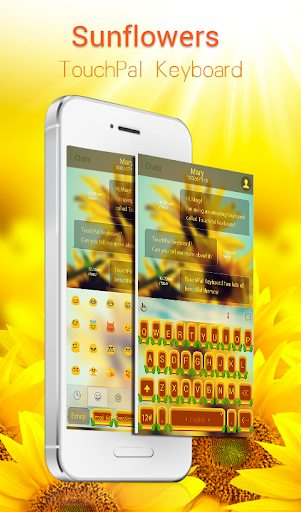 TouchPal Sunflowers Theme