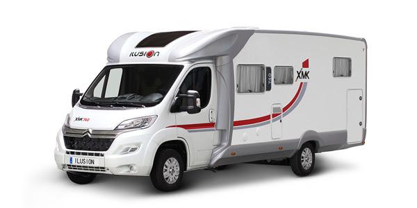 Venta y alquiler de autocaravanas ILUSION XMK 740 en Zaragoza y Huesca