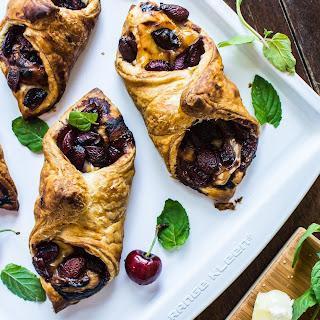 Cherry and Brie Honey Puff Pastry Recipe