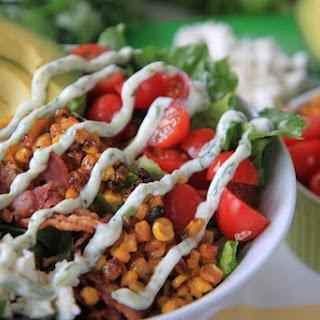 Blt Chopped Salad With Herb & Yogurt Dressing