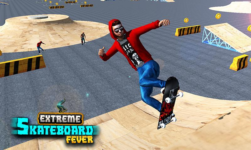 Skateboard Stunt Game 2017- screenshot