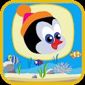 Penguin Fishing icon