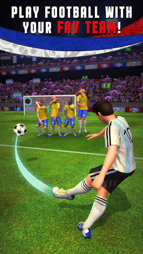 Shoot Goal - Jeux de Foot Multiplayer 2019  captures d'écran 1