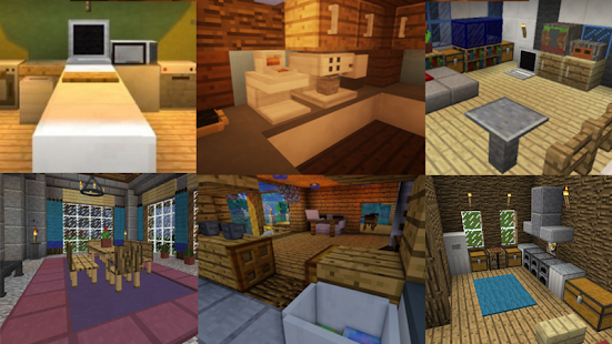 Furniture mod minecraft android apps on google play for Decoration mod mcpe 0 14 0
