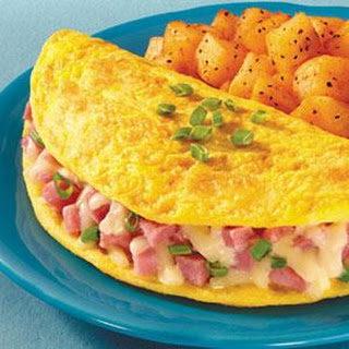 Quick and Easy Omelet.