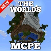 The Worlds map for MCPE