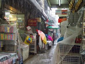 Photo: Chinatown - Bangkok -grosse pluie