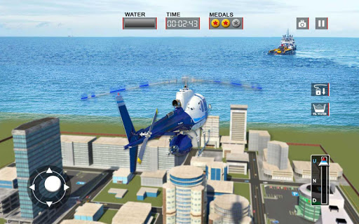 Heli Ambulance Rescue Team 3D Helicopter Simulator  screenshots 12