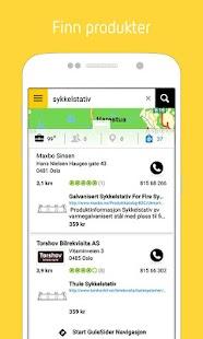 Gule Sider - Søk lokalt. - screenshot thumbnail