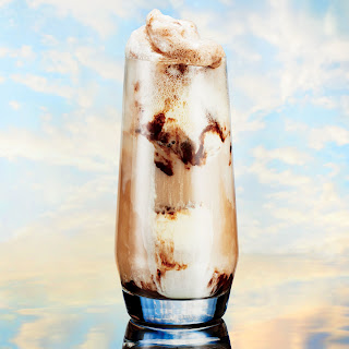 Coconut and Cream Float.