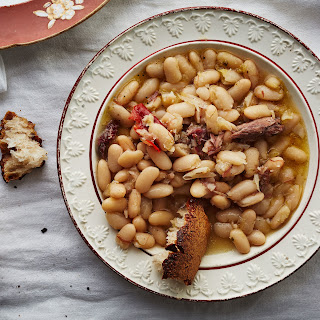 Stewed Cannellini Beans with Chiles and Thyme