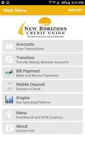 NEWHCU Mobile Banking- screenshot thumbnail