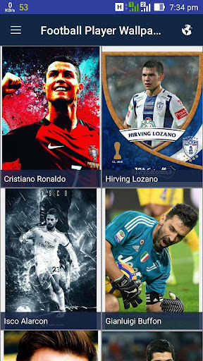 Football Players Wallpaper  screenshots 1