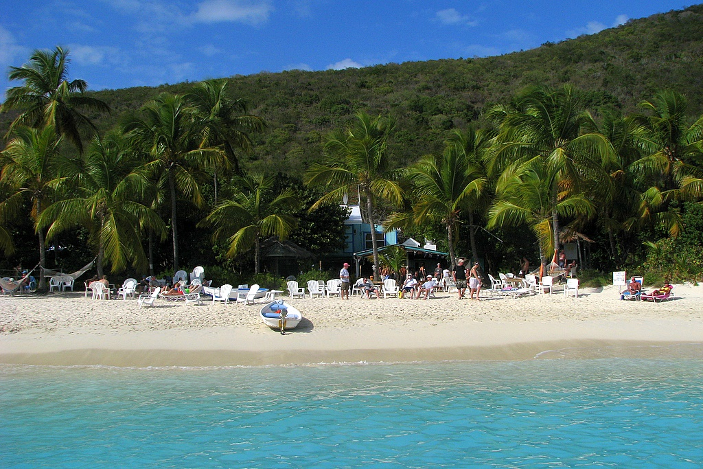 Soggy Dollar Bar, Jost Van Dyke, British Virgin Islands