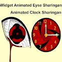 widget animated eyse sharingan icon