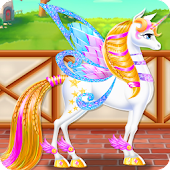 Tải Game Unicorn Braided Hair Salon